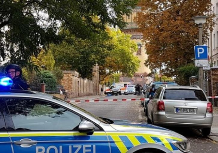 Two killed in shooting in eastern German city of Halle - police