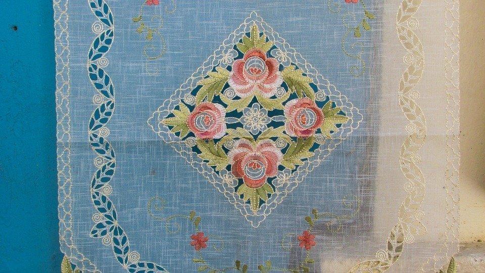 Handiwork, Embroidery, Needlework, Lace, Handmade
