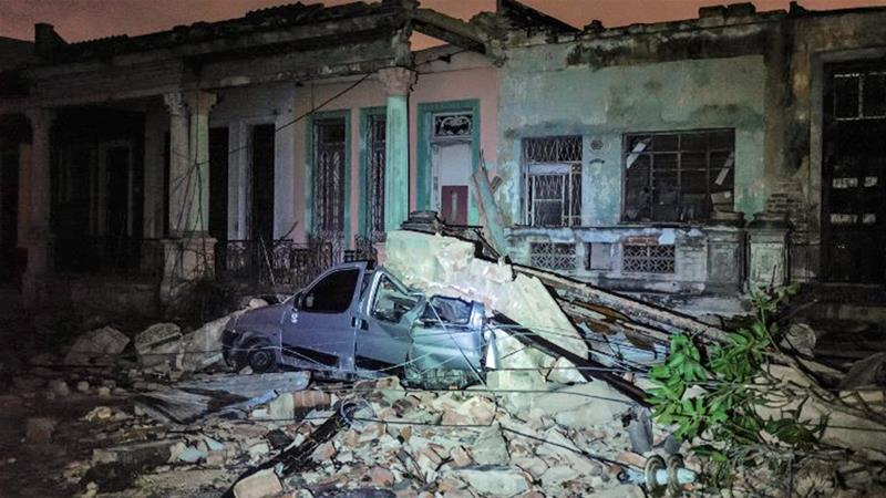 Havana hit by rare tornado