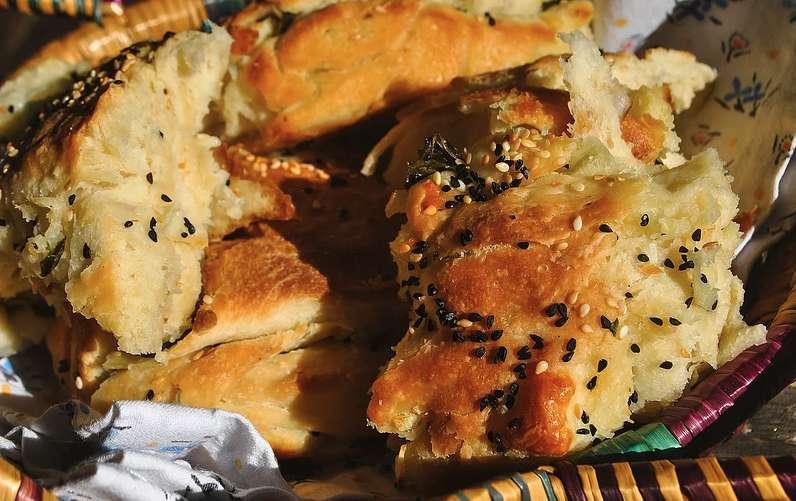 Halloumi bread