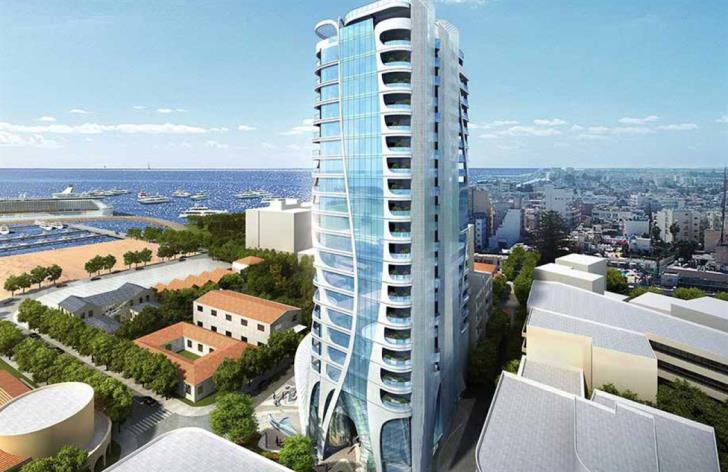 New 92-metre high-rise planned for Larnaca