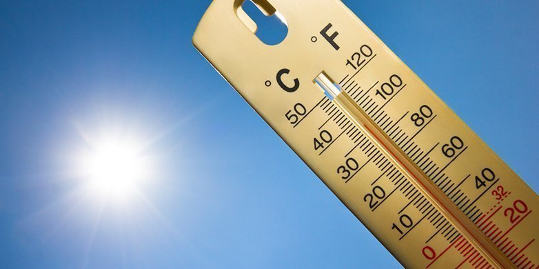 Yellow alert for Tuesday with temps at 40 C inland