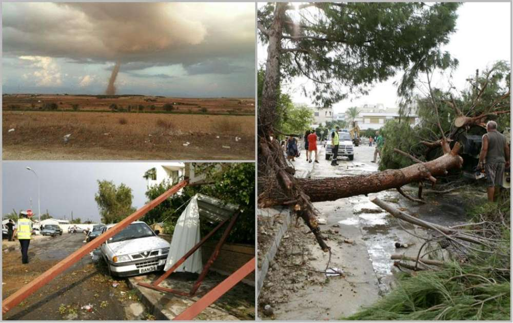 Whirlwinds in Cyprus: a look at previous incidents