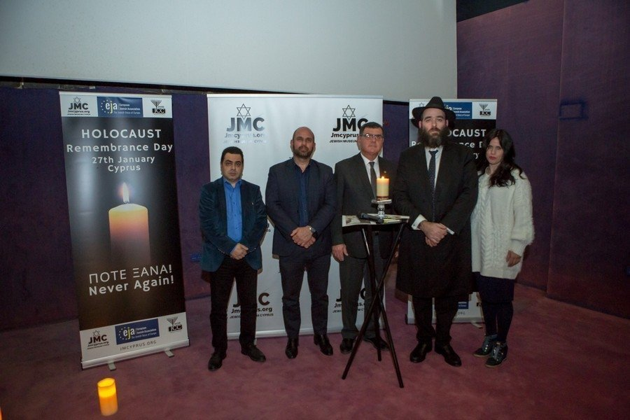 Cyprus Jewish Community marks 75 years since the Holocaust (photos)