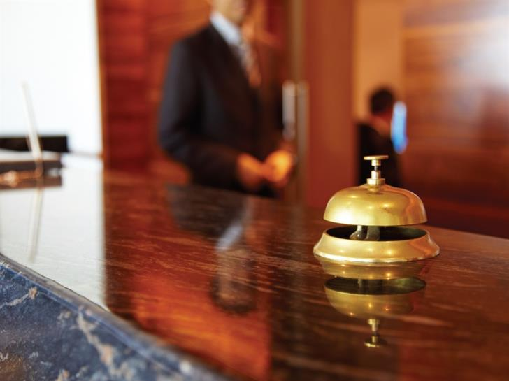 Lower labour costs in hotels and restaurants