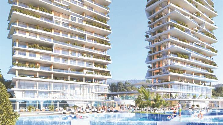 Limassol high-rise development: allowed three floors