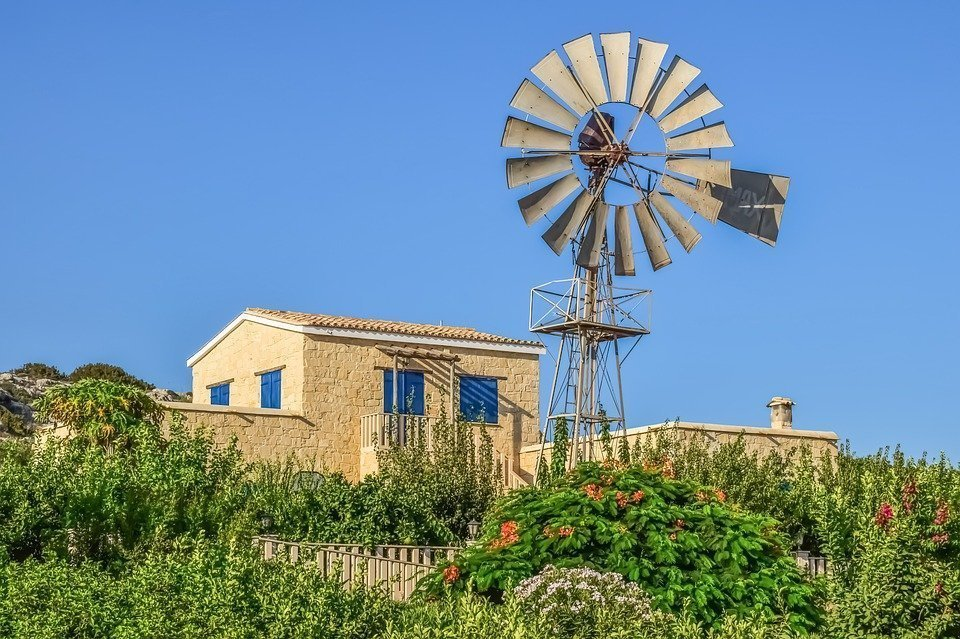House, Traditional, Architecture, Windmill, Tradition
