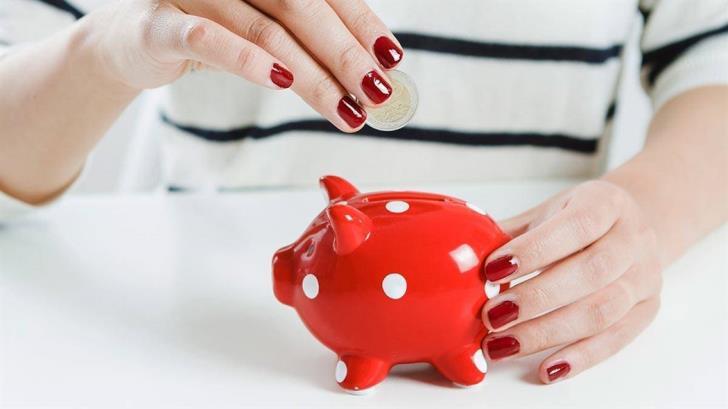 Savings again by households