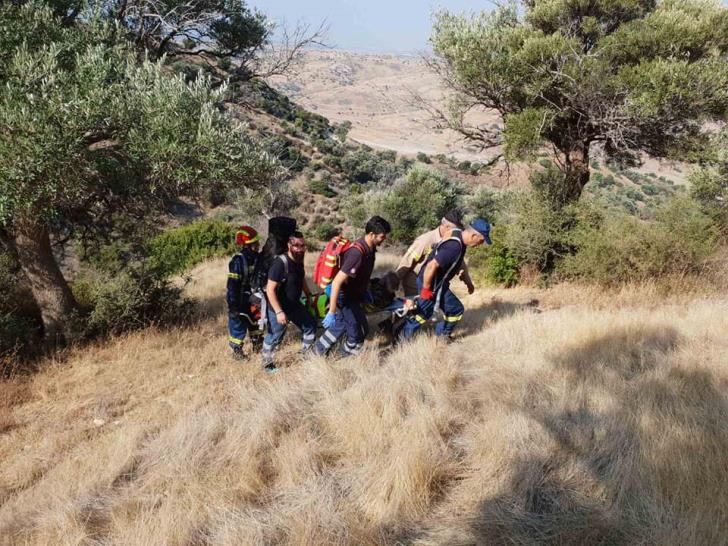 Paphos: Hunter who fell into ravine brought to safety