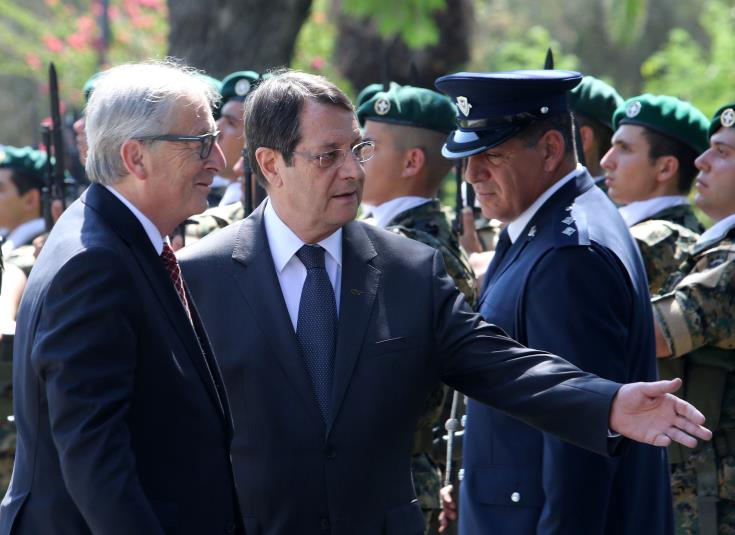Failure to achieve Cyprus' reunification during his term one of Juncker's big regrets