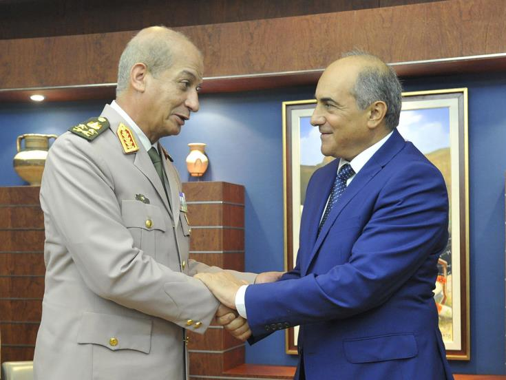 House President and Egyptian Defence Minister discuss Ankara's aggressive strategy