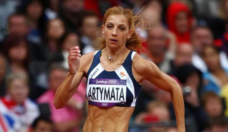 Eleni Artymata wins gold