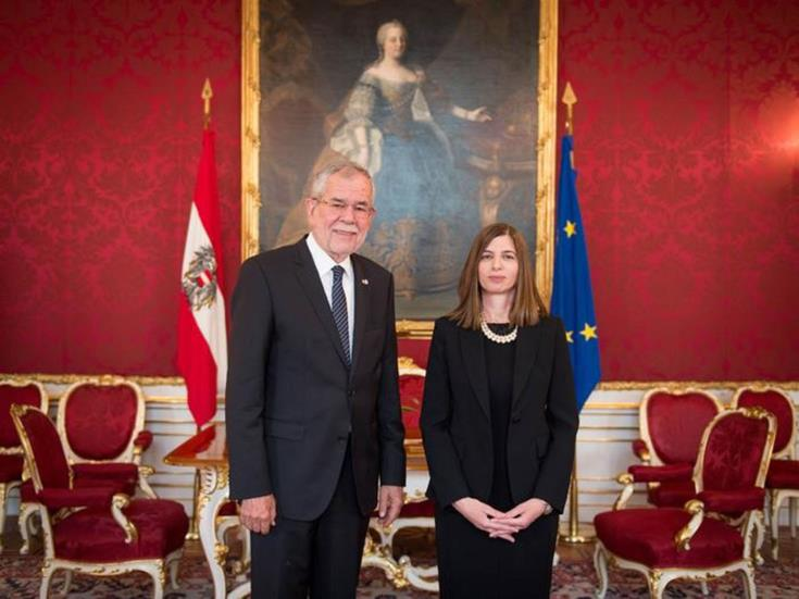 New Ambassador to Vienna thanks Austria for longstanding support on Cyprus issue