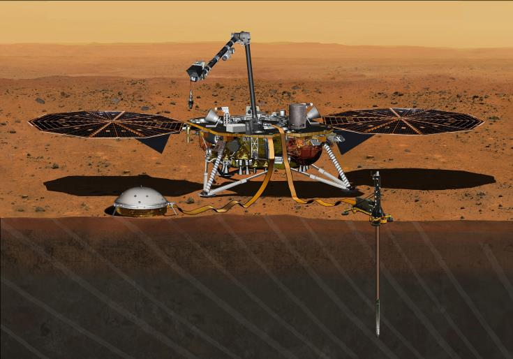 InSight senses first tremor on Mars