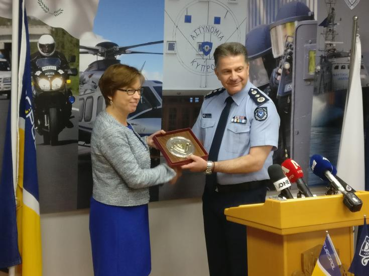Cyprus is a very reliable partner of Europol