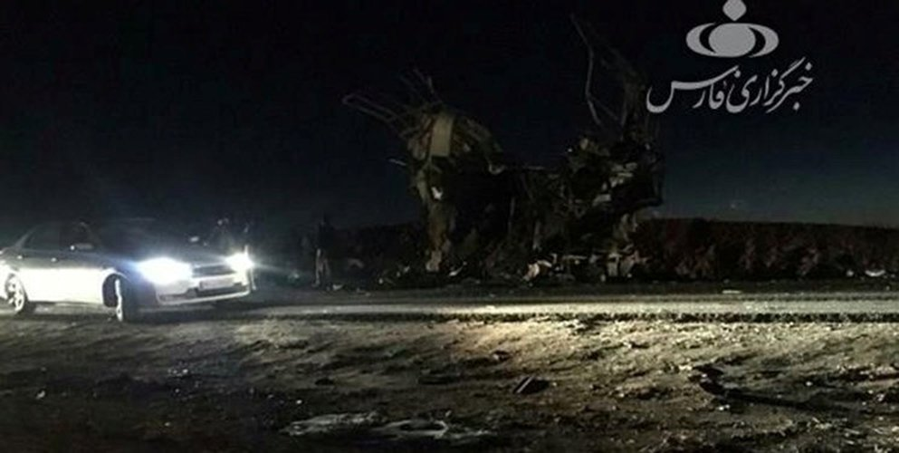 Suicide bomber kills 27 members of Iran's elite Revolutionary Guards