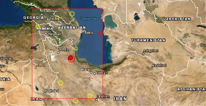 Quake in northwestern Iran kills 6