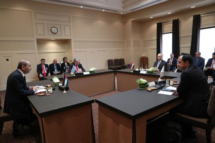 Iraq to join cooperation schemes which Cyprus and Greece establish with countries of the region