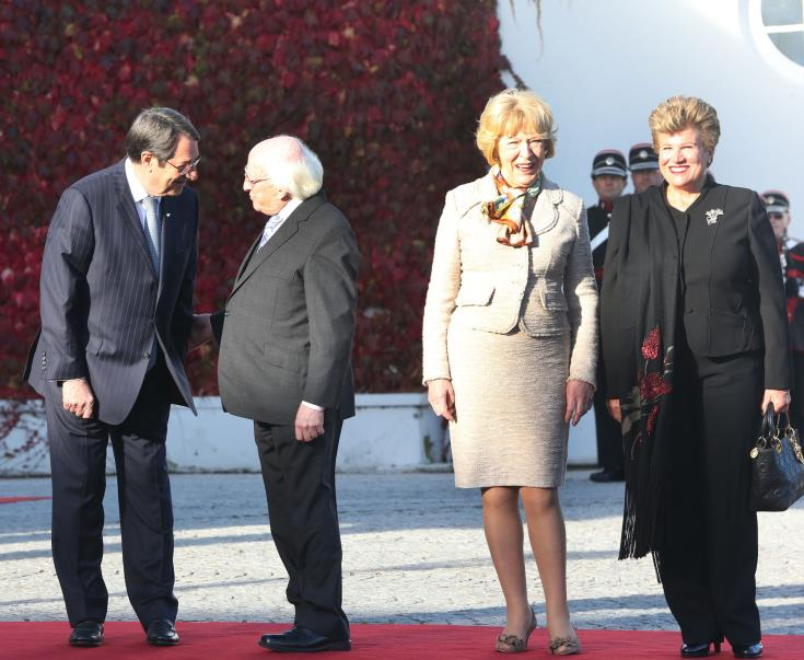 President of Ireland to pay state visit to Cyprus on October 13-16