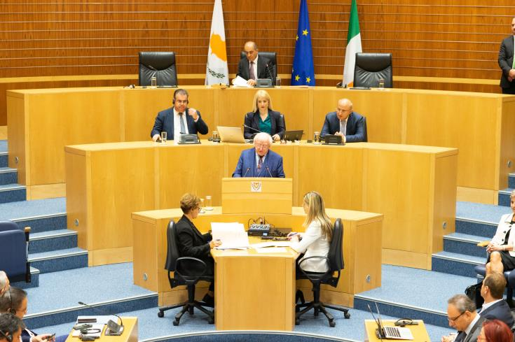 Ireland supports international law regarding issues in Cyprus' EEZ