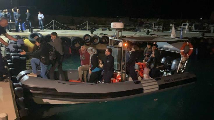 122 irregular migrants brought to shore at Protaras