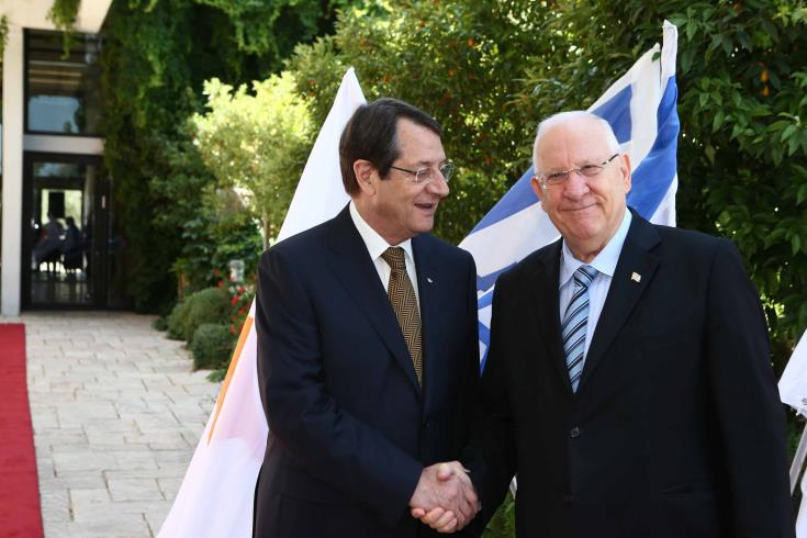 Israel and Cyprus Presidents to discuss bilateral relations