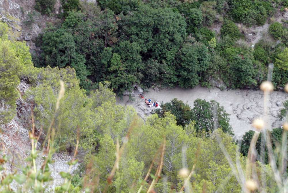 At least 11 dead in surge of white-water creek in Italy