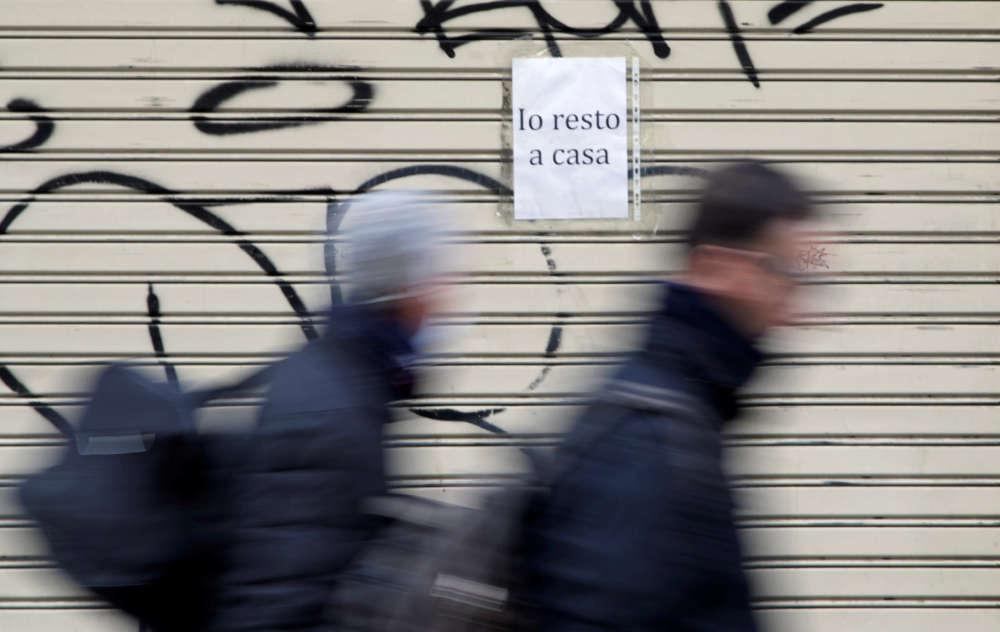 Italian daily coronavirus deaths jump 25% to 1