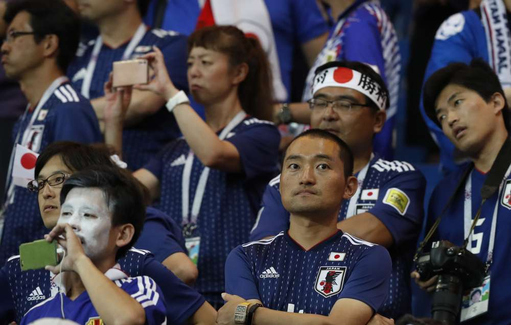 Belgium's last minute goal shocks Japan