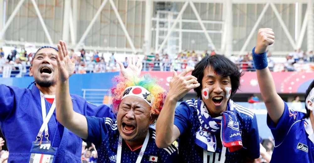 Japan beats Colombia