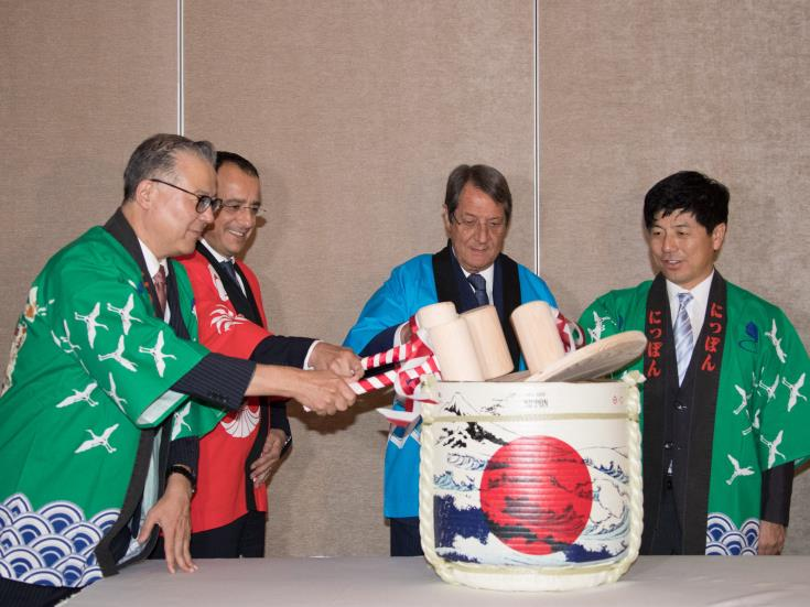 President hails historic milestone in bilateral relations as Japan opens Cyprus embassy