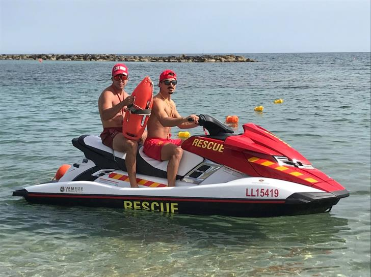 Paphos lifeguards equipped with new jet ski