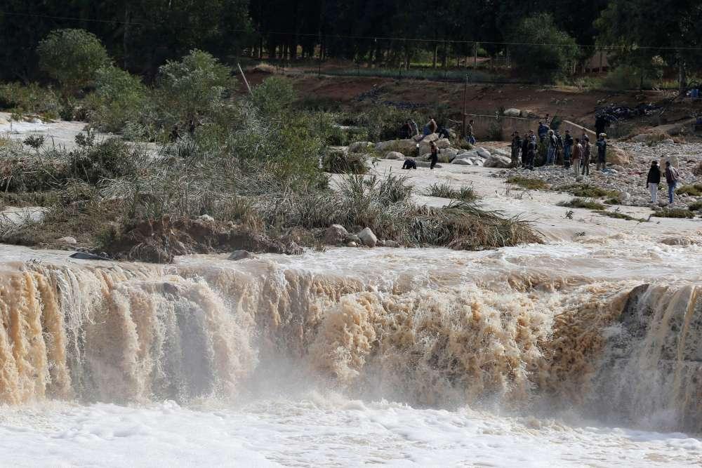Rains and floods kill 12 in Jordan