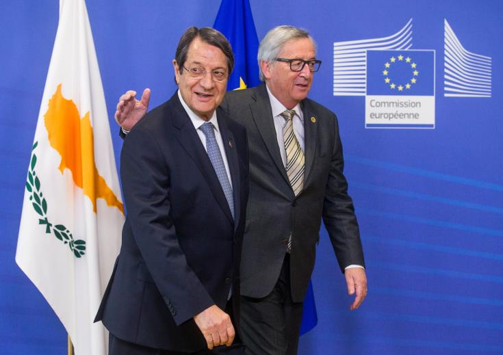 Juncker says not solving Cyprus issue one of his biggest regrets