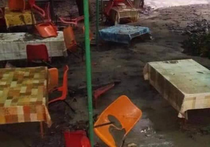 Mountain villages cleaning up after heavy rains (photos)