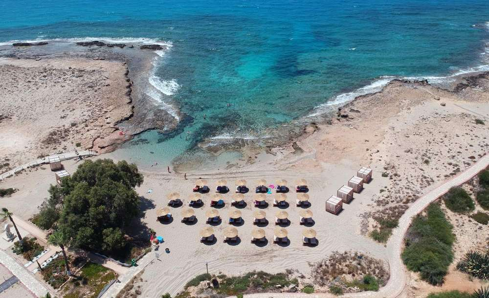 Ayia Napa municipality completes Ammos tou Kambouri beach upgrade (photos)