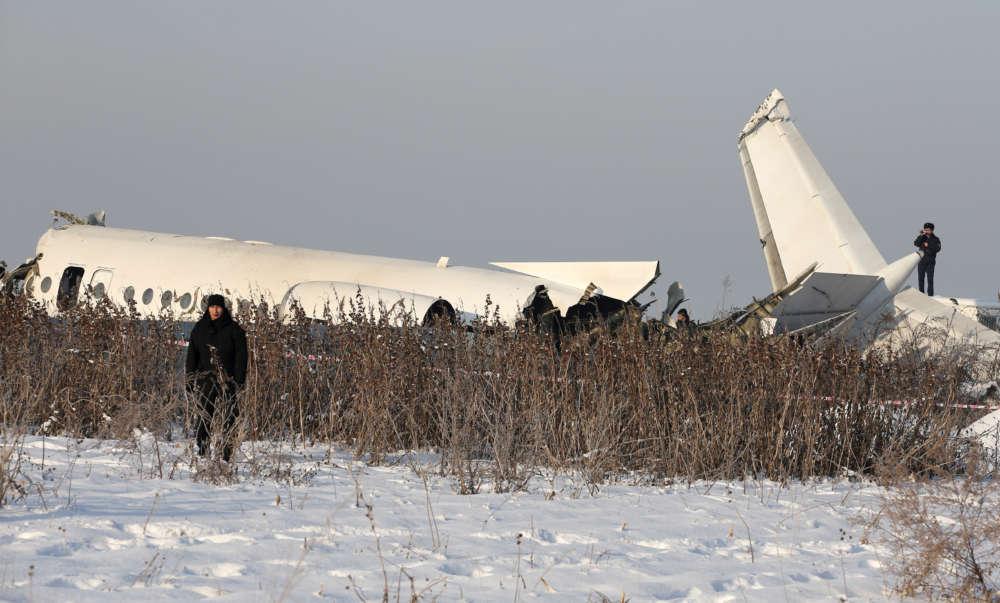 Plane crashes after takeoff in Kazakhstan