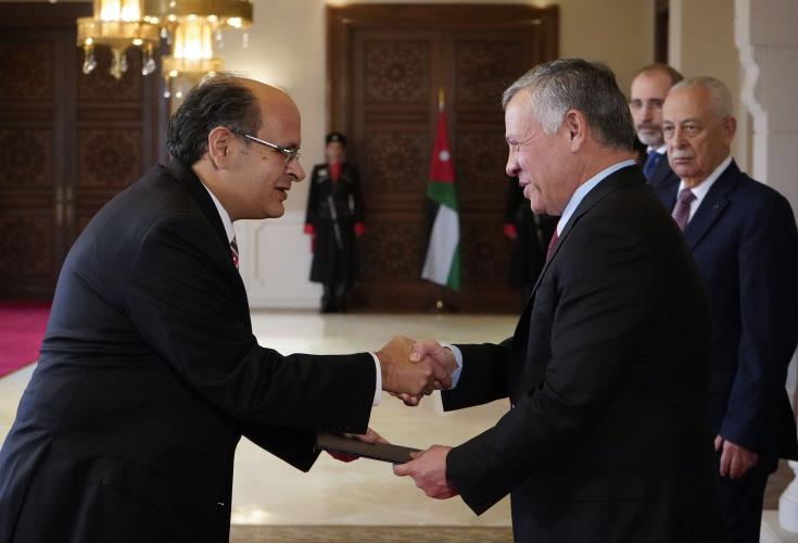 King of Jordan satisfied with trilateral cooperation between Cyprus