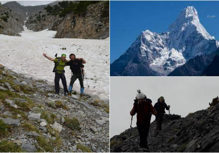 Kleitos prepares to scale Himalaya peak to raise funds for charity