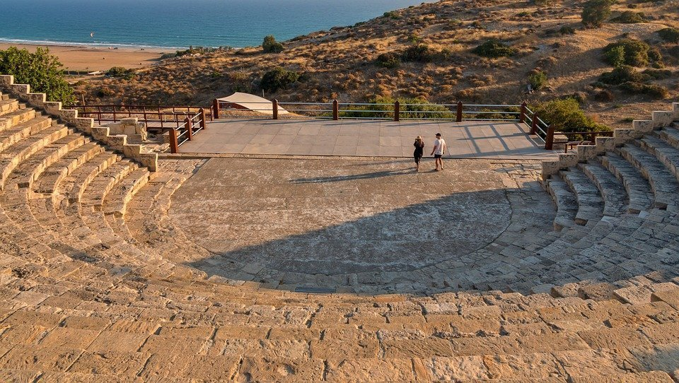 The remains of magnificent Kingdom of Kourion nearby Limassol