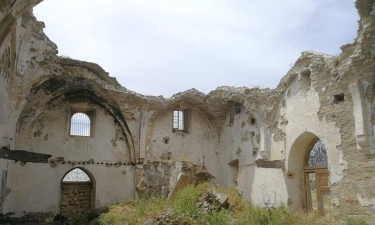 Conservation works begin at church in Kythrea