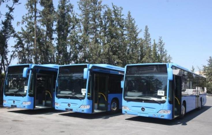 Larnaca bus drivers back at work
