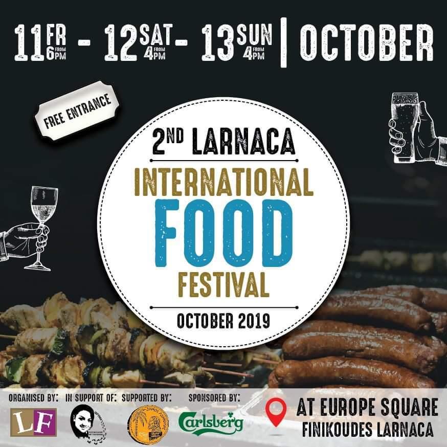 2nd Larnaca International Food Festival 2019