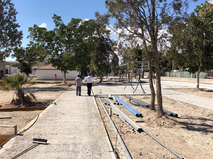 Larnaca Municipal Gardens upgrade on schedule
