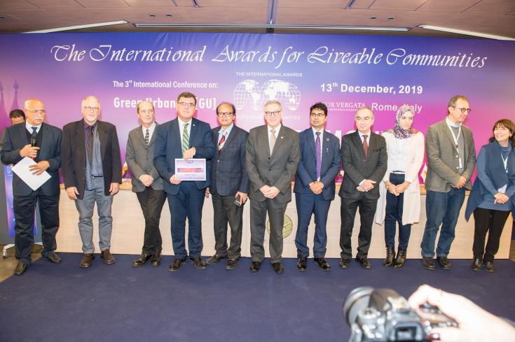 Larnaca shares third place in LivCom Awards