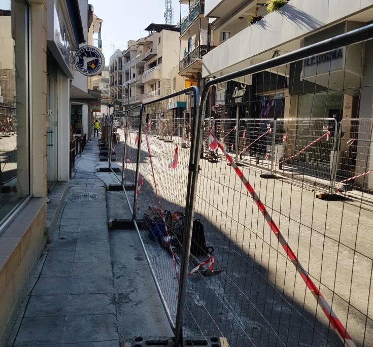 Work underway to make central Larnaca accessible to disabled