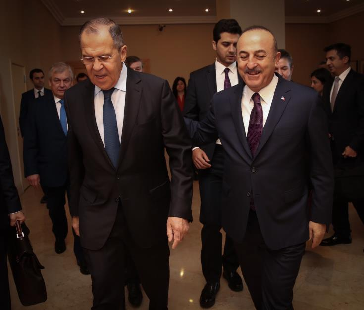 FMs of Russia & Turkey discuss Cyprus problem and situation in Eastern Med