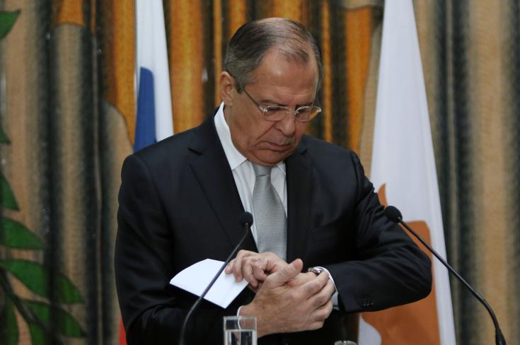 Lavrov reaffirms Moscow's position on Cyprus issue