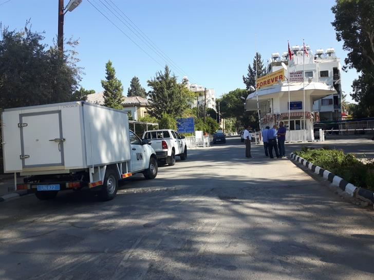 First exchange of criminals takes place at Ledra Palace checkpoint