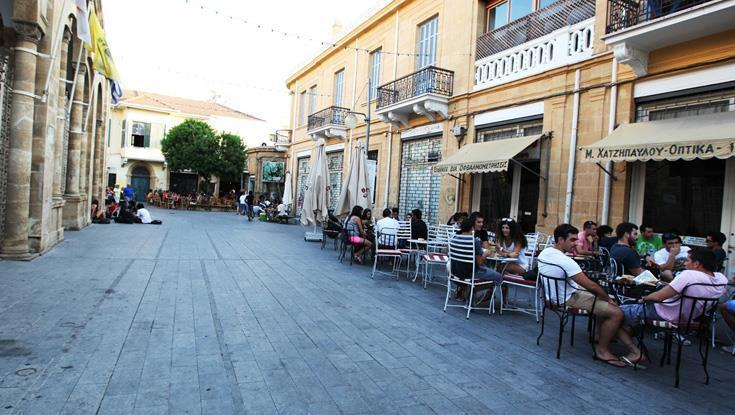 Catering establishments 'taking over' Ledra-Onasagorou